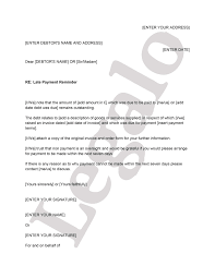 late payment reminder letter template add to basket