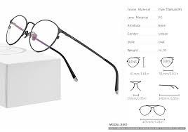 <b>Pure Titanium Glasses</b> Frame Men Vintage Round <b>Eyewear</b> Classic ...