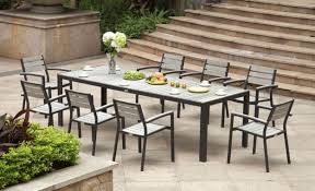 Metal Patio Furniture For Outdoor Dining Ideas ByCostco  A