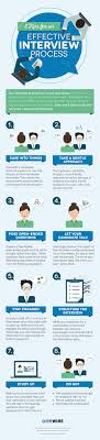 tips for an effective interview process infographic 8 tips for an effective interview process