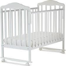 <b>Кровать</b> детская <b>СКВ Березка</b> (<b>белый</b>-120111)