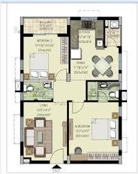 Floor Plans   GK Pride at Sainikpuri  Secundrabad   GK Developers    Click to view West Facing Floor Plan