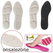 ONPH <b>1 Pair 4D</b> sponge soft insole <b>sport</b> high heel shoes relief ...