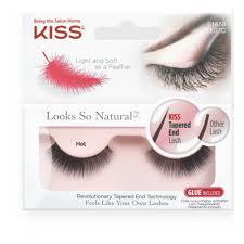 <b>Накладные ресницы</b> KISS <b>Looks</b> so Natural Eyelashes Hot KFL07C