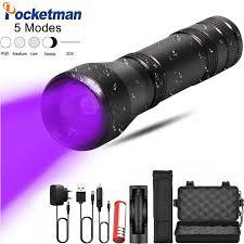 <b>8000lm</b> XM L T6 <b>LED Flashlight</b> Torch <b>Rechargeable</b> Lantern ...