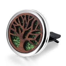 <b>Lotus</b> of life <b>Stainless Steel</b> Removable Car Essential Oil Diffuser ...