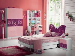 beautiful kids girls bedroom interior decorating ideas headlining white wooden single bed with shapely purple butterfly bedroom kids furniture sets cool single