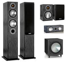 <b>Комплект акустики Monitor</b> Audio Bronze Set 5.1 — купить по ...