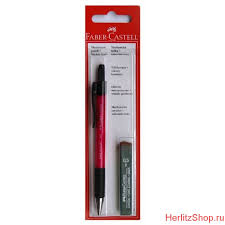 Карандаш механический <b>Faber</b>-<b>Castell</b> GRIP MATIC, графитные ...