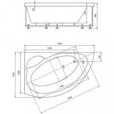 <b>Ванна акриловая АКВАТЕК Аякс</b> 2 170х110 (левая, без ...