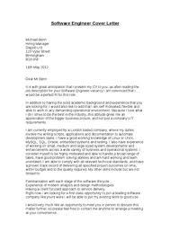 sample software developer cover letter software engineer cover  software engineer cover letter examples