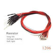 <b>20pcs with 1.5K</b> resistor 1206 SMD model train HO N OO scale Pre ...