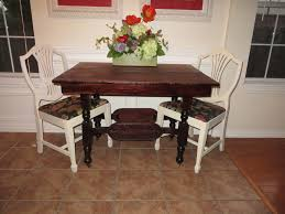 Restaining Kitchen Table Remodelaholic Step By Step How To Refinish Wood Furniture