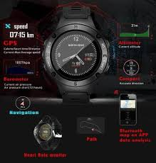 Gps <b>Smartwatch</b> multisport with heart rate monitor pedometer and ...