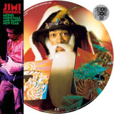 <b>Jimi Hendrix Merry</b> Christmas And Happy New Year (12″ Picture ...