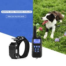 <b>880 800m Waterproof</b> Rechargeable Dog Training Collar Remote ...