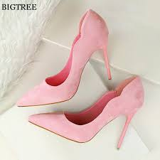 <b>BIGTREE 2019 New</b> Arrival <b>Sexy</b> Pointed Toe Office Shoes ...