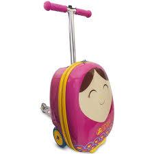 Трехколесный <b>самокат Zinc</b> с <b>чемоданом Betty</b> - Акушерство.Ru
