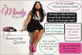 Image result for mindy project quotes