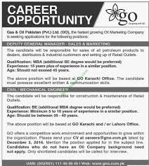 jobs in gas oil go limited deputy general manager jobs in gas oil go limited deputy general manager civil engineer