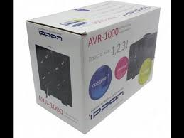Обзор <b>стабилизатора</b> напряжения <b>Ippon AVR1000</b> - YouTube