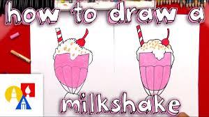 How To Draw A <b>Milkshake</b> - YouTube