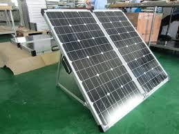 resultado de imagem para fotos paineis solares dobrável 150W
