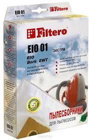 Мешок-<b>пылесборник Filtero</b> EIO 01 Экстра, для Bork, EIO ...