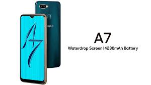 OPPO A7 được công bố: Snapdragon 450, màn hình giọt nước, pin ...