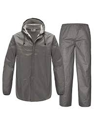 SWISSWELL Mens <b>Rain Suit Waterproof</b> Lightweight Fishing <b>Rain</b> ...