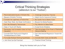 Algebra     s Friend   MTBoSBlaugust Critical Thinking Strategies in