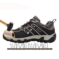 <b>MODYF Men Steel Toe</b> Safety Work Shoes Breathable Hiking ...