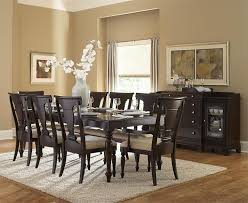 casual black dining room set