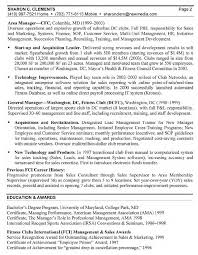General Manager Resume Free Resume Example And Writing Download