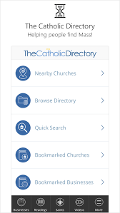 Catholic Directory Mass Times   Android Apps on Google Play