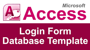 microsoft access login form database template microsoft access login form database template