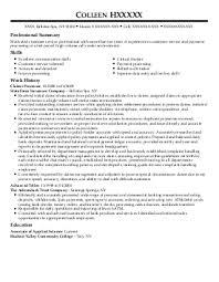 customer service representative resume example vangent inc  colleen h