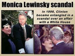 「1998 Monica Lewinsky and bill clinton」の画像検索結果