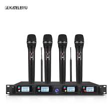<b>Wireless Microphone System</b> 8000GT Professional UHF Channel ...