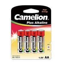 <b>Батарейка</b> AA - <b>Camelion</b> Alkaline Plus LR6-BP4 (4 штуки) в век ...