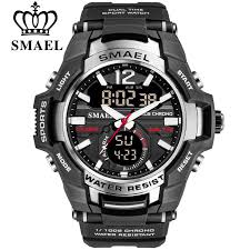 Original <b>SMAEL</b> 1805 Cool Style <b>Men's</b> Sport <b>Quartz</b> Watch LED ...