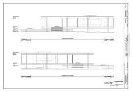 Must Know Modern Homes  Edith Farnsworth HouseModern Exterior Elevation Must Know Moderns
