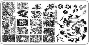 <b>Planet Nails</b>, <b>Пластина для</b> Stamping Nail Art (25 видов) - 20 | www ...