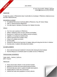 resume example phlebotomist resume sample phlebotomy resume with no experience 2016 phlebotomy resume examples phlebotomist cover letter
