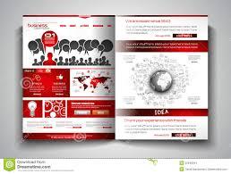 vector bi fold brochure template design or flyer layout to use for vector bi fold brochure template design or flyer layout to use for business stock images