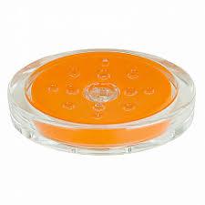 <b>Мыльница Spirella Sydney</b>-Acryl, цвет оранжевый - купить в ...