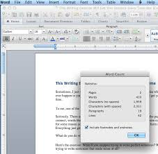 How to check word count in Pages   Mac Tutorial The Padded Cell