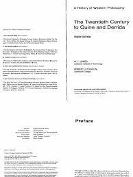 a history of western philosophy the twentieth century to quine and a history of western philosophy the twentieth century to quine and derrida logic