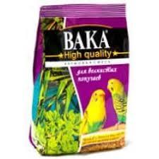 <b>Вака High Quality корм</b> д/волнистых попугаев 500г
