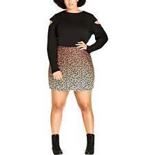 Polyester <b>Animal</b> Print Mini Skirts for Women for sale | eBay